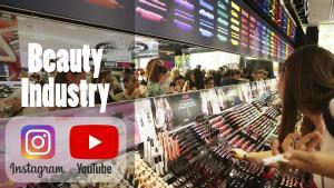 Instagram YouTube beauty industry